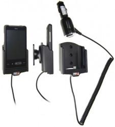 Support voiture  Brodit HTC Aria  avec chargeur allume cigare - Avec rotule orientable. Réf 512142