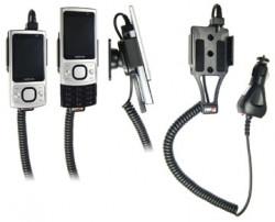 Support voiture  Brodit Nokia 6700 Slide  avec chargeur allume cigare - Avec rotule orientable. Réf 512151