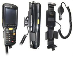 Support voiture  Brodit Motorola MC9500  avec chargeur allume cigare - Avec rotule. Pour appareil avec batterie standard et étendu. Réf 512156