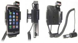 Support voiture  Brodit Samsung Wave GT-S8500  avec chargeur allume cigare - Avec rotule orientable. Réf 512162