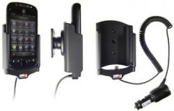 Support voiture  Brodit T-Mobile My Touch 3G Slide  avec chargeur allume cigare - Avec rotule. Pour un montant position fermée. Réf 512168