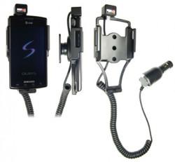 Support voiture  Brodit Samsung Captivate  avec chargeur allume cigare - Avec rotule orientable. Réf 512173