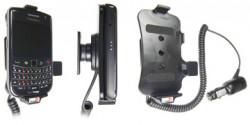 Support voiture  Brodit BlackBerry Bold 9650  avec chargeur allume cigare - Avec rotule orientable. Réf 512175