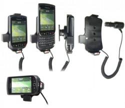 Support voiture  Brodit BlackBerry Torch 9800  avec chargeur allume cigare - Avec rotule orientable. Réf 512179