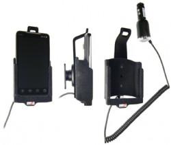 Support voiture  Brodit HTC EVO 4G  avec chargeur allume cigare - Avec rotule. Pour une position verticale et horizontale plus sûr. Surface &quot