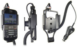 Support voiture  Brodit Nokia E5  avec chargeur allume cigare - Avec rotule orientable. Réf 512184