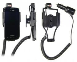 Support voiture  Brodit Samsung Fascinate  avec chargeur allume cigare - Avec rotule orientable. Réf 512192