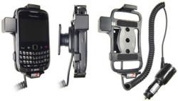Support voiture  Brodit BlackBerry Curve 9300  avec chargeur allume cigare - Avec rotule orientable. Réf 512204