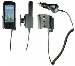 Support voiture  Brodit Nokia C6-00  avec chargeur allume cigare - Avec rotule. Pour un montant position fermée. Réf 512210