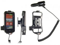 Support voiture  Brodit HTC Mozart  avec chargeur allume cigare - Avec rotule orientable. Réf 512212