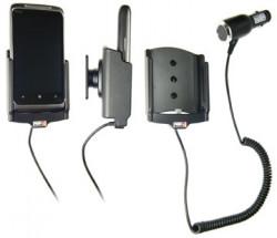 Support voiture  Brodit HTC Surround  avec chargeur allume cigare - Avec rotule orientable. Réf 512214