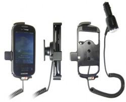 Support voiture  Brodit Samsung Continuum  avec chargeur allume cigare - Avec rotule orientable. Réf 512215