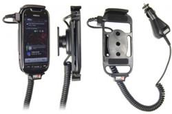 Support voiture  Brodit Nokia 701  avec chargeur allume cigare - Avec rotule orientable. Réf 512216