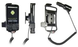 Support voiture  Brodit Motorola Droid  Pro  avec chargeur allume cigare - Avec rotule orientable. Réf 512217