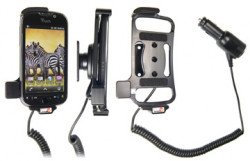 Support voiture  Brodit HTC MyTouch 4G  avec chargeur allume cigare - Avec rotule orientable. Réf 512234