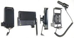 Support voiture  Brodit HTC EVO Shift 4G  avec chargeur allume cigare - Avec rotule orientable. Réf 512237