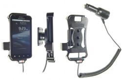 Support voiture  Brodit Motorola Atrix  avec chargeur allume cigare - Avec rotule orientable. Réf 512241