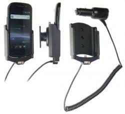 Support voiture  Brodit Samsung Nexus S GT-I9023  avec chargeur allume cigare - Avec rotule orientable. Réf 512245