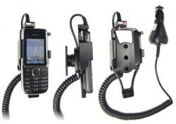 Support voiture  Brodit Nokia C2-01  avec chargeur allume cigare - Avec rotule orientable. Réf 512250