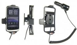 Support voiture  Brodit HTC Desire S  avec chargeur allume cigare - Avec rotule orientable. Réf 512251