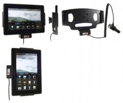 Support voiture  Brodit BlackBerry PlayBook  avec chargeur allume cigare - Avec rotule orientable. Réf 512254