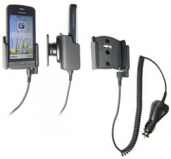 Support voiture  Brodit Nokia C5-03  avec chargeur allume cigare - Avec rotule orientable. Réf 512262