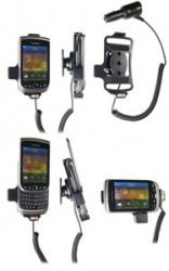 Support voiture  Brodit BlackBerry Torch 9800  avec chargeur allume cigare - Avec rotule orientable. Réf 512272