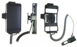 Support voiture  Brodit LG Revolution  avec chargeur allume cigare - Avec rotule orientable. Réf 512275