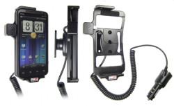 Support voiture  Brodit HTC EVO 3D  avec chargeur allume cigare - Avec rotule orientable. Réf 512278