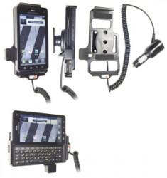 Support voiture  Brodit Motorola Droid 3  avec chargeur allume cigare - Avec rotule orientable. Réf 512280