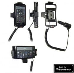 Support voiture  Brodit BlackBerry Torch 9850  avec chargeur allume cigare - Avec rotule orientable. Réf 512288
