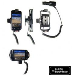 Support voiture  Brodit BlackBerry Curve 9380  avec chargeur allume cigare - Avec rotule orientable. Réf 512295