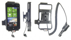 Support voiture  Brodit HTC Titan X310e  avec chargeur allume cigare - Avec rotule orientable. Réf 512296
