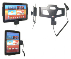 Support voiture  Brodit Samsung Galaxy Tab 8.9 GT-P7300  avec chargeur allume cigare - Avec rotule orientable. Réf 512300