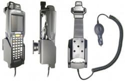 Support voiture  Brodit Symbol MC3090R  avec chargeur allume cigare - Avec rotule orientable. Réf 512301