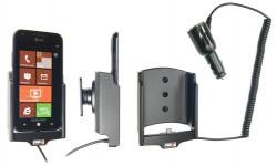 Support voiture  Brodit Samsung Focus S SGH-I937  avec chargeur allume cigare - Avec rotule orientable. Réf 512313