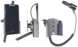 Support voiture  Brodit Motorola Droid Razr XT912  avec chargeur allume cigare - Avec rotule orientable. Réf 512315