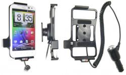 Support voiture  Brodit HTC Sensation XL X315e  avec chargeur allume cigare - Avec rotule orientable. Réf 512318