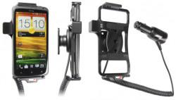 Support voiture  Brodit HTC One X S720e  avec chargeur allume cigare - Avec rotule orientable. Réf 512377
