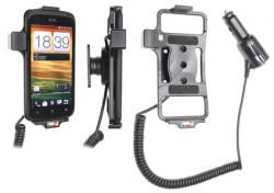 Support voiture  Brodit HTC One S Z520e  avec chargeur allume cigare - Avec rotule orientable. Réf 512386