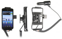 Support voiture  Brodit ZTE Skate  avec chargeur allume cigare - Avec rotule orientable. Réf 512394