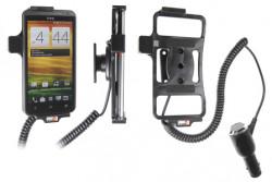Support voiture  Brodit HTC EVO 4G LTE  avec chargeur allume cigare - Avec rotule orientable. Réf 512403