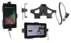 Support voiture  Brodit Asus Google Nexus 7  avec chargeur allume cigare - Avec rotule orientable. Réf 512412