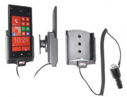 Support voiture  Brodit HTC 8X  avec chargeur allume cigare - Avec rotule orientable. Réf 512454