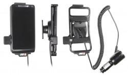 Support voiture  Brodit Motorola Droid Razr M  avec chargeur allume cigare - Avec rotule orientable. Réf 512474