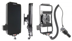 Support voiture  Brodit Motorola Droid Razr Maxx HD  avec chargeur allume cigare - Avec rotule orientable. Réf 512475