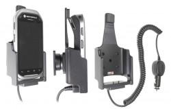 Support voiture  Brodit Motorola MC40  avec chargeur allume cigare - Avec rotule. Seulement pour appareil avec lecteur de carte de crédit. Réf 512497