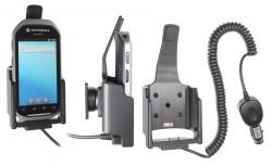 Support voiture  Brodit Motorola MC40  avec chargeur allume cigare - Avec rotule. Uniquement pour l'appareil sans lecteur de carte de crédit. Réf 512528