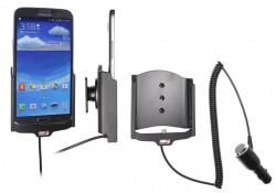 Support voiture  Brodit Samsung Galaxy Mega 6.3  avec chargeur allume cigare - Avec rotule orientable. Réf 512556