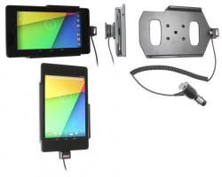 Support voiture  Brodit Asus Google Nexus 7 (2013)  avec chargeur allume cigare - Avec rotule orientable. Réf 512560